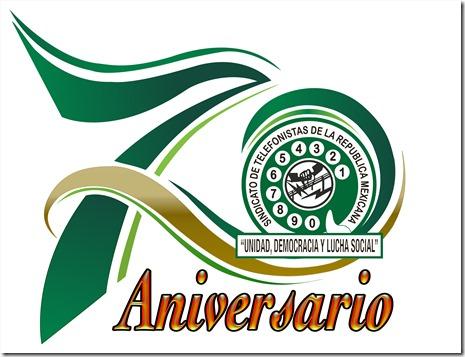 Logo 70 Aniversario STRM 2020